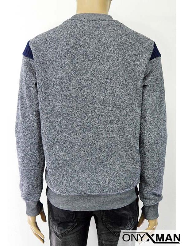 Мъжка блуза ватирана Флекс