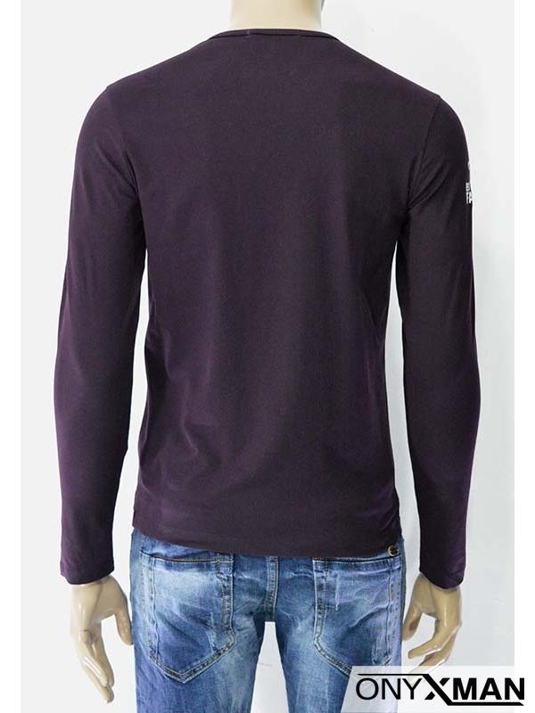Мъжка трикотажна блуза Маска