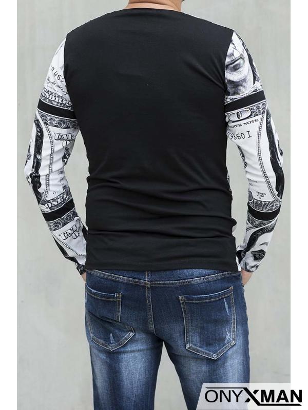 Мъжка трикотажна блуза