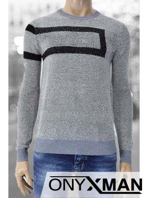 """Мъжка блуза плетиво """" Иту """""""