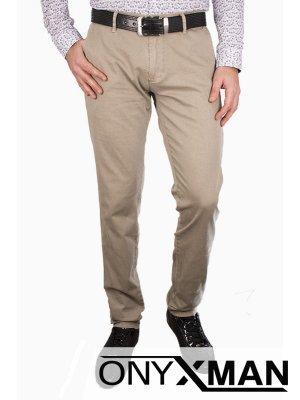 Мъжки панталон в бежов цвят