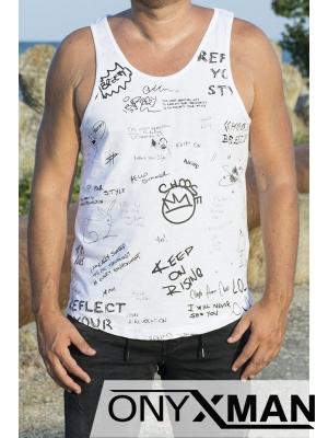 Мъжка тениска Smiley