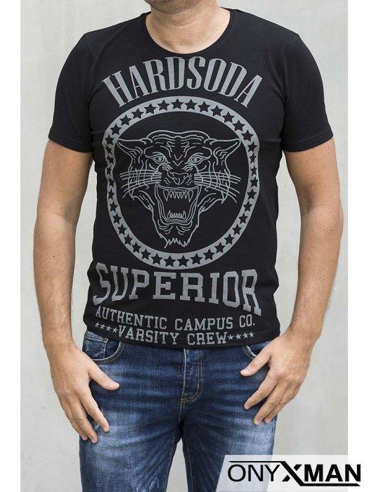 Мъжка вталена тениска