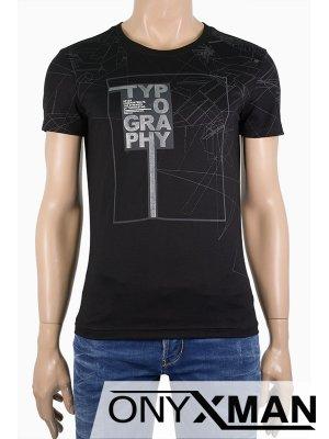 Мъжка тениска Typography